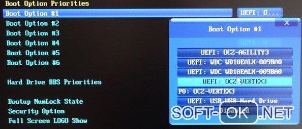 Установка Виндоус в режиме UEFI