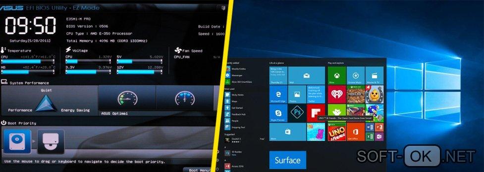 Установка Windows 10 на UEFI BIOS