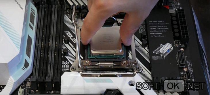 Установка процессора Intel Core i7 7820x