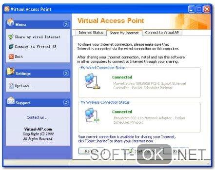 Раздача Wi-fi с ноутбука на ОС Windows XP