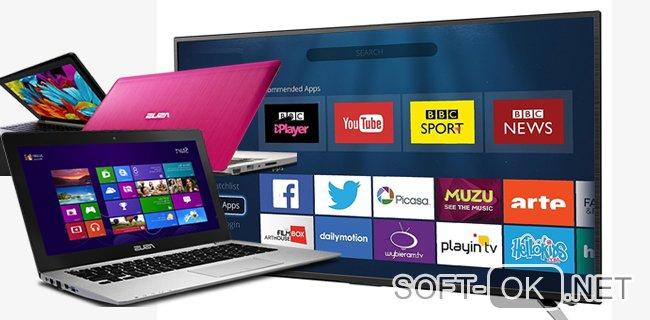 Подключение ноутбука к Smart TV через Вайфай
