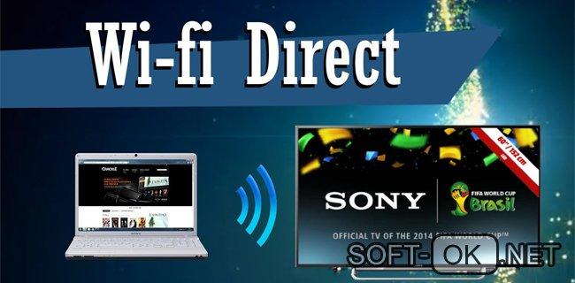 Подключение Sony TV к ноутбуку через Wifi Direct