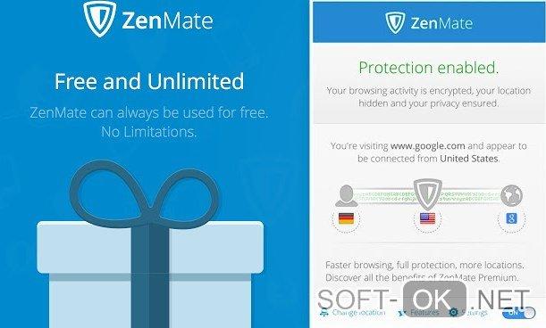 ZenMate VPN расширение